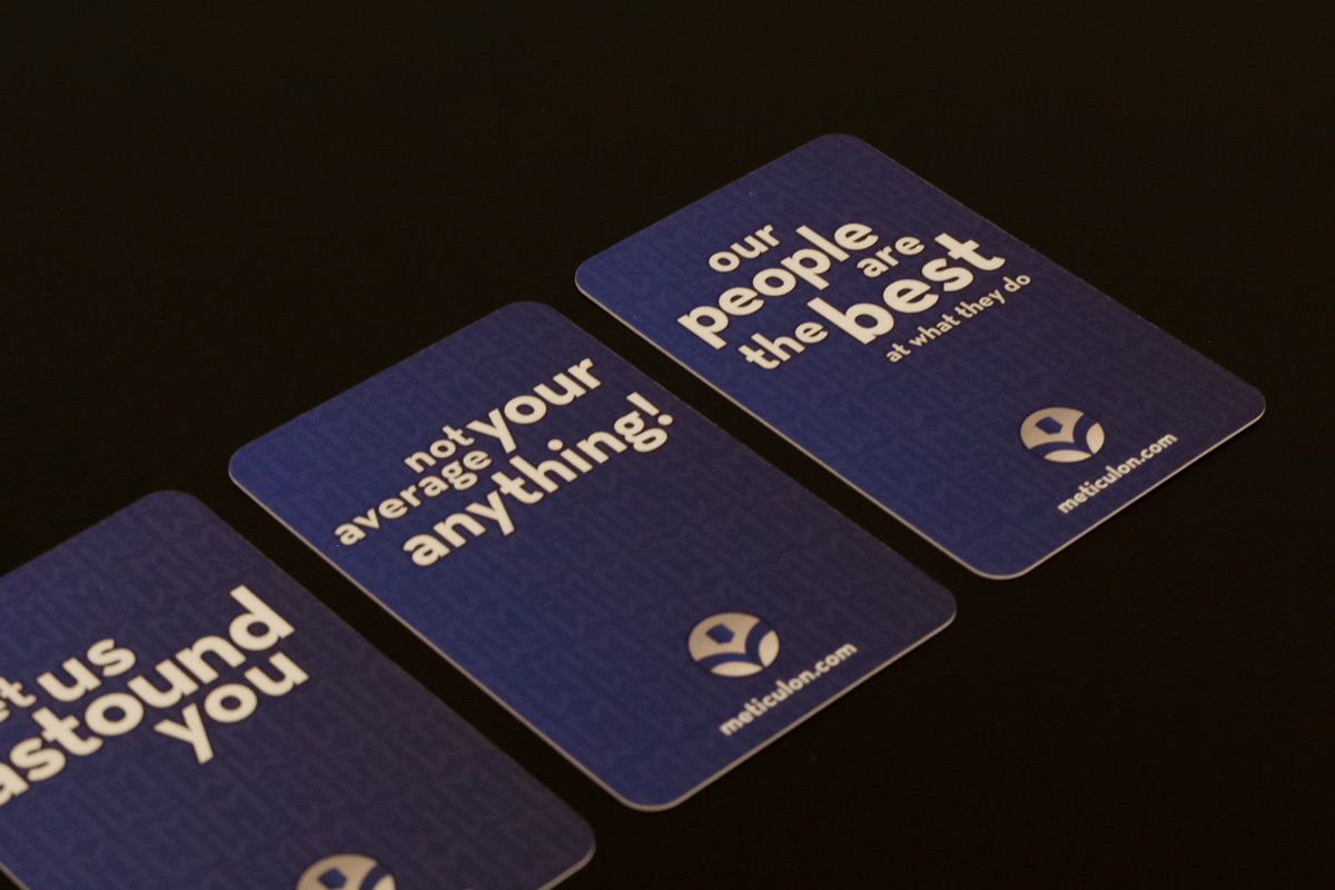 Meticulon Business Cards
