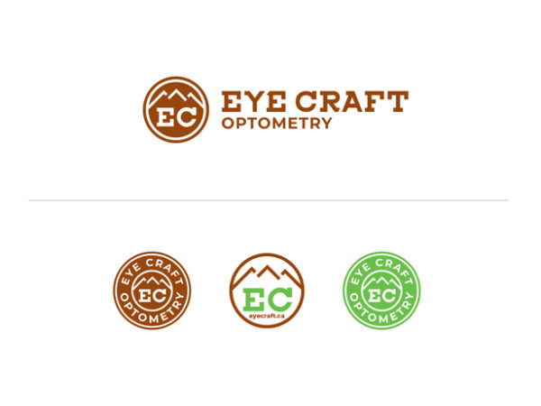 eyecraft optometry Logos