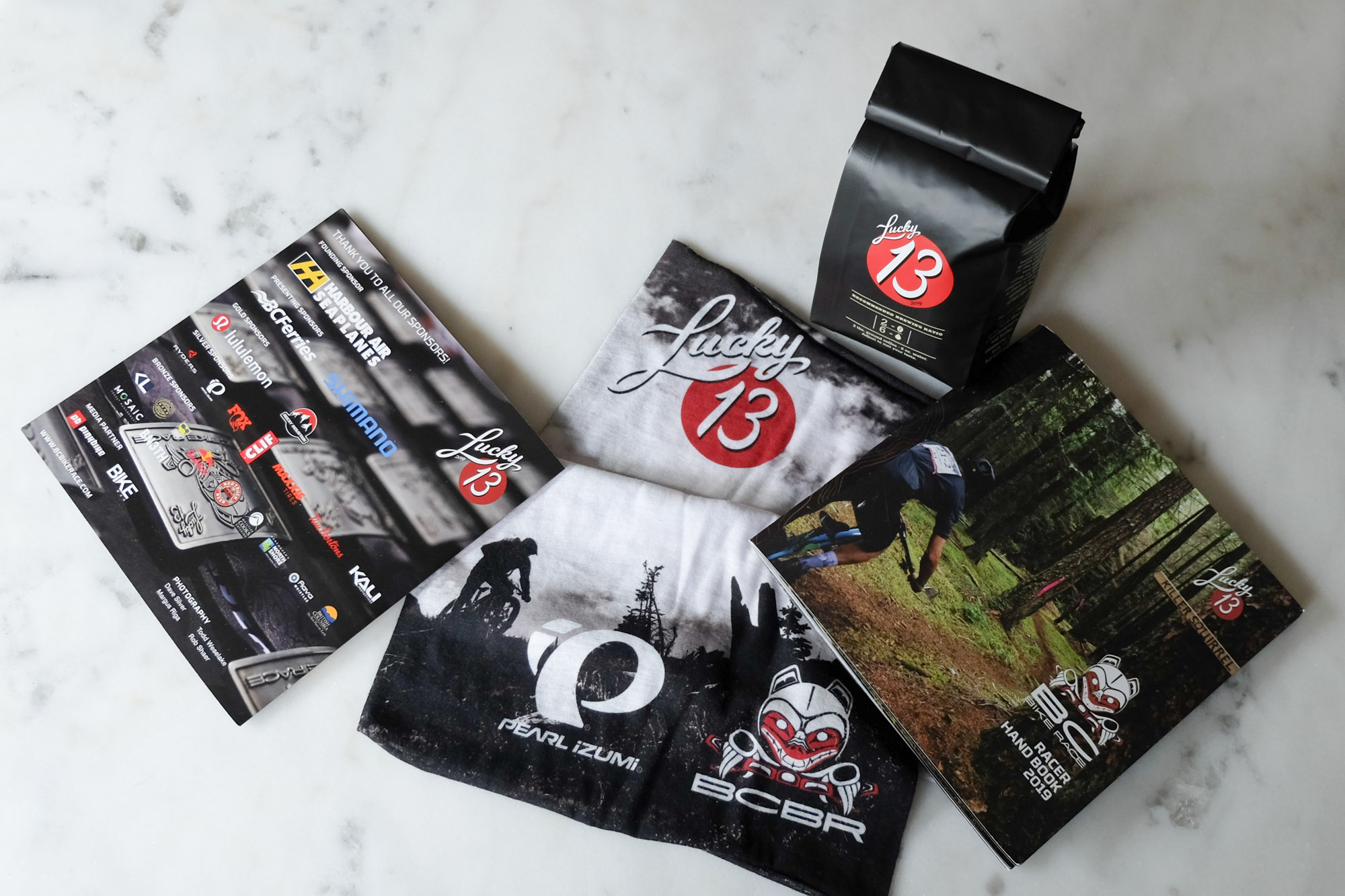 BC Bike Race coffee and Lucky 13th Year
