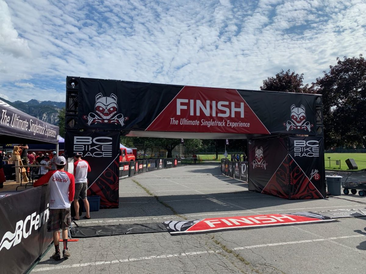 BC Bike Race Squamish Finish 2019