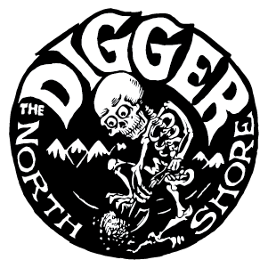 Digger Know Fear Branded T-Shirts