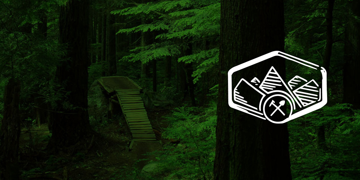 North Shore Mountain Bike Association Graphic Design Vancouver