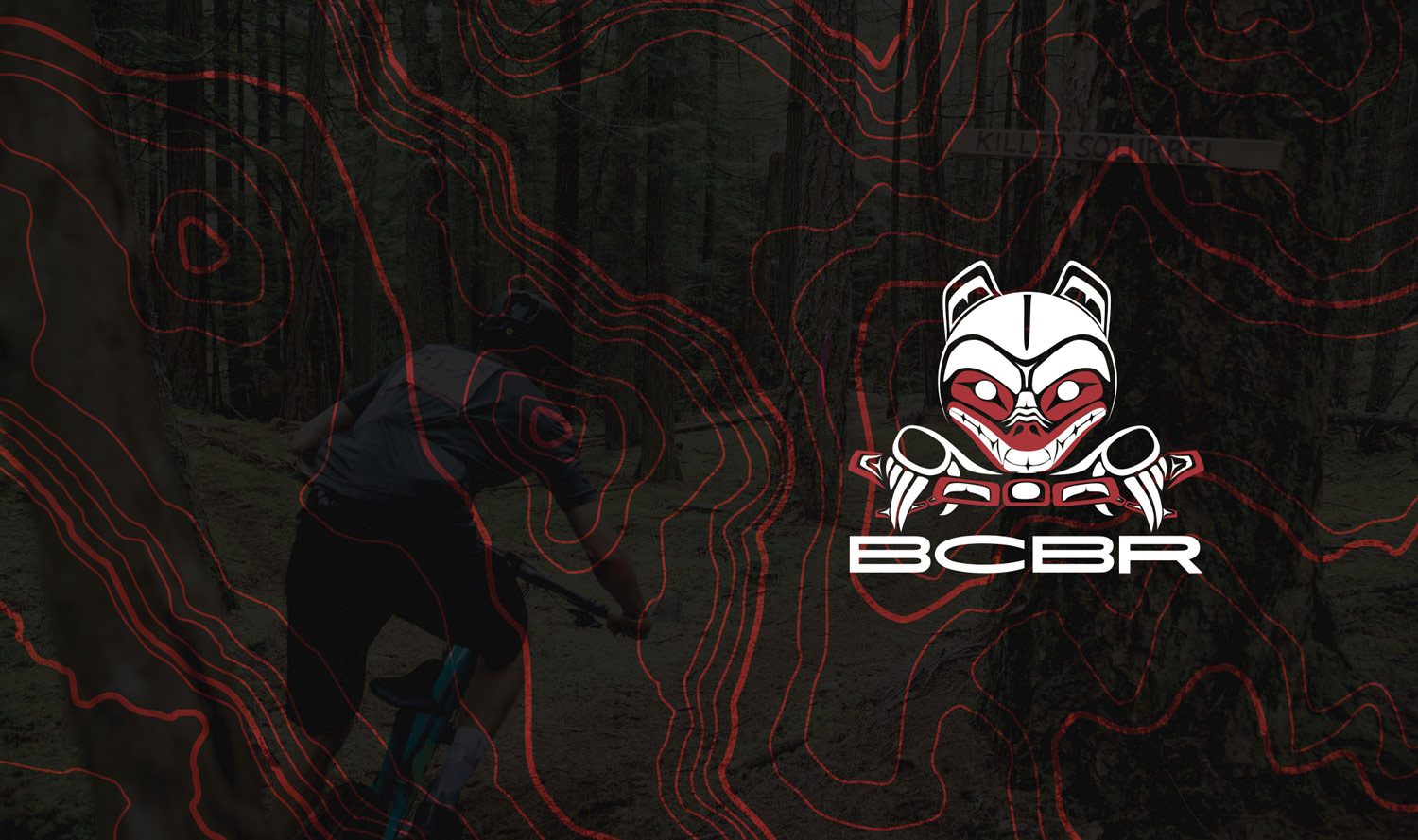 BC Bike Race Graphic Design Vancouver