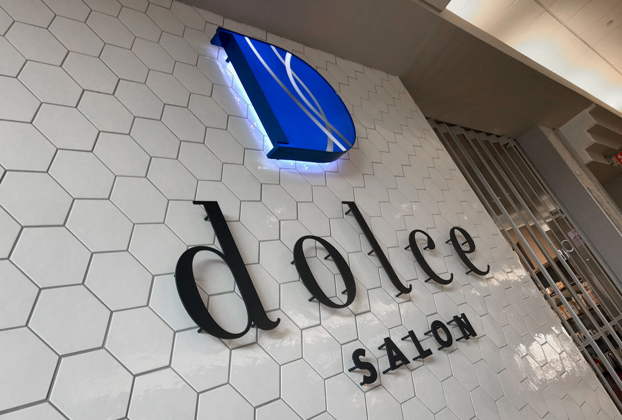 Dolce Hair Salon Graphic Design Vancouver